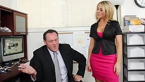 Amber Ashlee gets styled into her boss's office