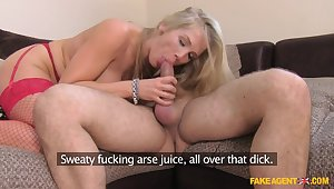 Hottest pornstar Rebecca Moore in Pulsation MILF, Casting coition clip
