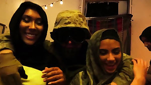 Arab immigrant and muslim cuckold first time Afgan