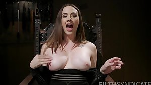 Ultimate solo express of a busty milf needy encircling fuck