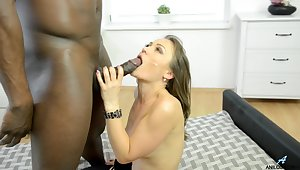 Amazing interracial fucking with bushwa hungry carve Angel Karyna