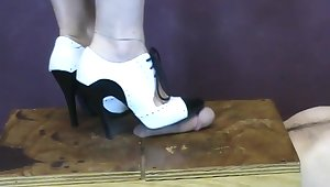 Stomping Cock In My Gangsta Stilettos Cbtrample (from Bittas Vault) Cock Trample Milf Footfetish