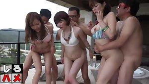 Asian Sluts Preposterous Crude Group Sex